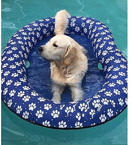 Inflatable Dog Pet Pool Float1